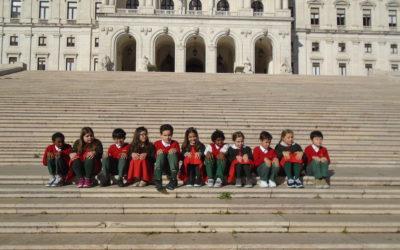 Visita de estudo à Assembleia da República – Turma das Tartarugas, 4º Ano