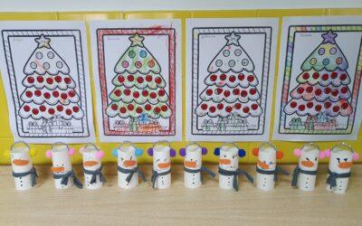 Bonequinhos de neve- Amiguinhos Terlu