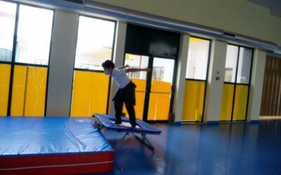 Aula prática de Educação Física do 6º ano