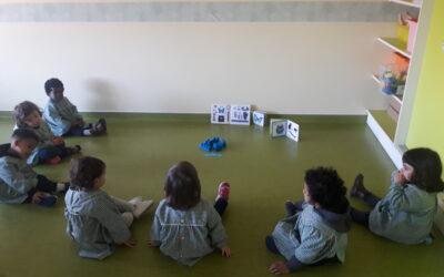 Sala dos Pintainhos- A Cor Azul e o Círculo