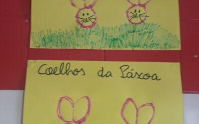 Sala dos Pintainho0s (2/3 anos) – As Cores da Primavera e o coelho da Páscoa