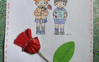 25 de Abril nos Amiguinhos Terlu- Jardim de Infância