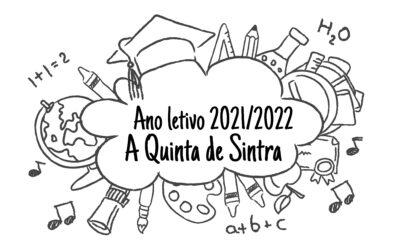 Ano Letivo 2021/2022- A Quinta de Sintra