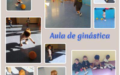 A nossa aula de ginástica!
